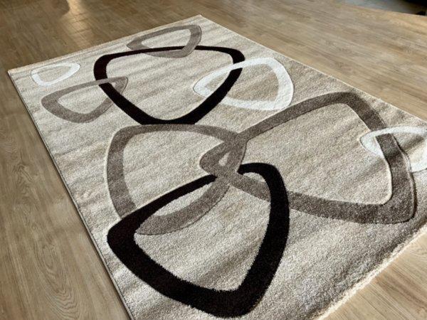 релефен килим съни  7110 карамел